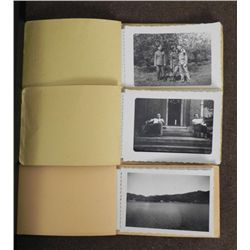 3 WWII GI PHOTO ALBUMS-OVER 30 PICS