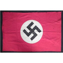 WWII Nazi NSDAP Banner Double Sided Flag