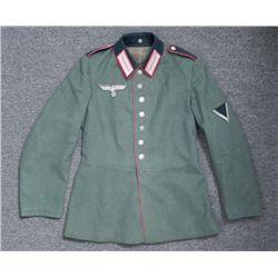 WWII Nazi NCO German Wermacht Artillery Jacket 1st Reg