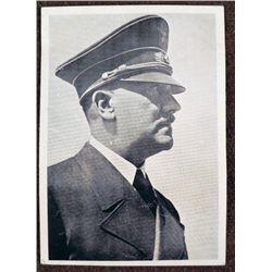 "ORIGINAL NAZI PHOTO POST-CARD OF HITLER--4X 5/1/2"""