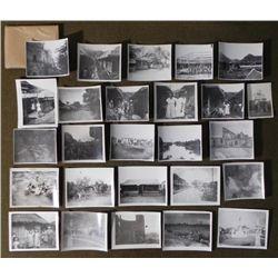 25 ORIGINAL WWII PHOTOS OF GI'S PHILIPPINE WOMEN SCENES