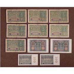 II GERMAN PRE-WAR (WWII) CURRENCY NOTES-7 -50 MARKS--4