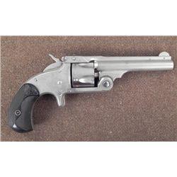Smith & Wesson Revolver Gun Black Grip Civil War Era