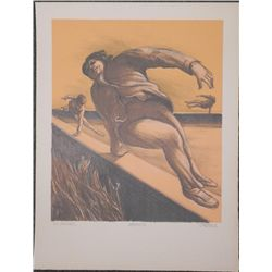 Jerry Kearns Signed Artist Proof Print Leaping