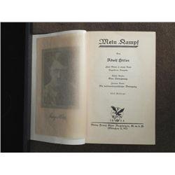Adolf Hitler Mein Kampf Book Early Edition Nazi 1933