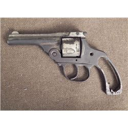 Early Antique Revolver Gun -For Parts