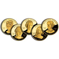 Uncirculated Margaret Spouse Gold Coins