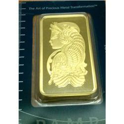 Pamp Suisse 100 gram gold bar