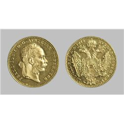 Austrian 1 Ducat .1106 Oz Gold Coin