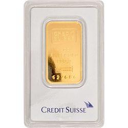 Credit Suisse 1 Oz Gold Bar