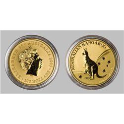 Australian Kangaroo 1 Oz Gold Coin