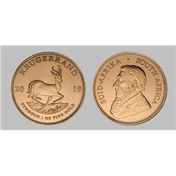 South African Krugerrand 1 oz coin (Random Years)