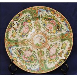 Rose Medallion porcelain plate China