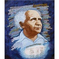 David Ben Gurion Signed by Ronald Reagan/Retail $19900.