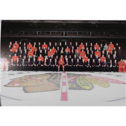 Huge Photo of Blackhawks Team and Entire Org 2011-2012