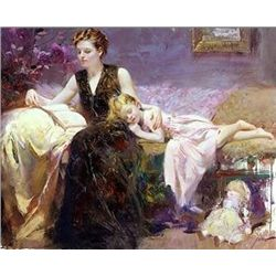 Precious Moments by Pino 36x48 Signed Giclee