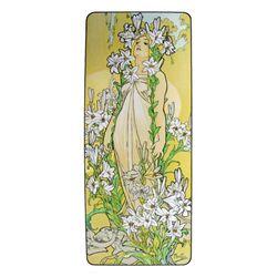 Alphonse Mucha : Lily, Flower Series, 1898 Art Print