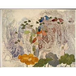 Tseng Ying Pang Tranquil Pool Signed Art Print