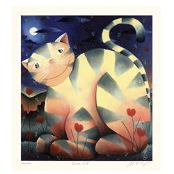 Mackenzie Thorpe 'Love Cat'