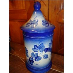 French stoneware Apothecary pot Alsace
