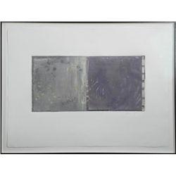 Stephanie Weber Original Mixed Media Abstract Art-Framd