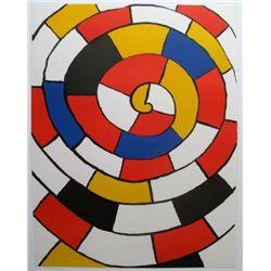 Labyrinth Alexander Calder Iithograph
