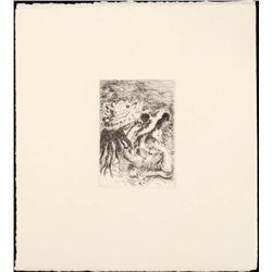 Renoir Etching Art Print - Chapeau Epingle (The Hatpin)