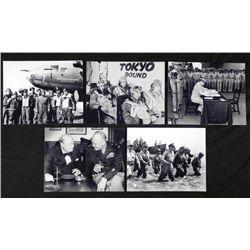 5 Great Rare WWII Photos - MacArthur Eisenhower USAF