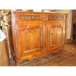 French Louis XV sideboard buffet late 1700's
