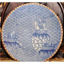Imban( transfer-painted plate) 1880 Japan