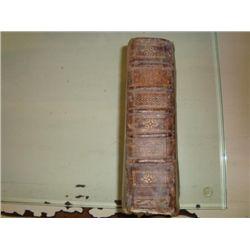 Antique French religious book circa 1795