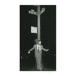 William Gottlieb Signed Art Print -Dizzy on 52nd Street
