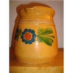 French Alsatian milk jug early 1900's