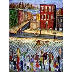 David Dinkins Art Print The Other Side