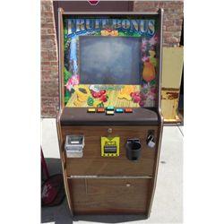 Fruit Bonus 96 Video Slot Machine Arcade Game KSE