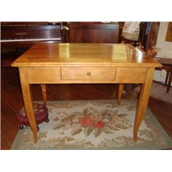 French Farm table with one drawer circa 1850