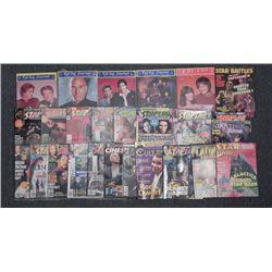 Sci-Fi Magazine Lot Epi-Log, Starlog, Star Wars, Trek