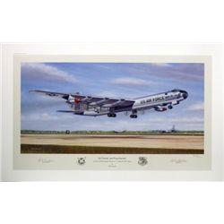 Aviation Art Six Turnin' and Four Burnin' Machat B-36
