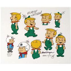 Bob Singer Original Signed Cel 1962 The Jetsons