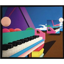 GRAND PIANO REFLECTIONS Abstract Art Print Stan Solomon