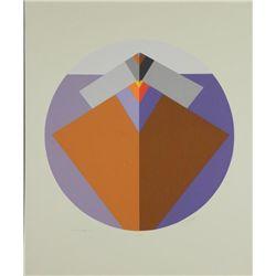 Doug Danz Signed Abstract Proof Print Mesa II