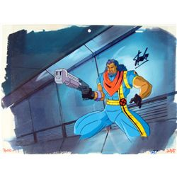 Original All Day Stan Lee Signed Animation Cel X-MEN