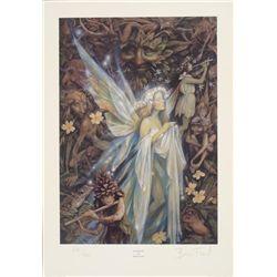 Gwenhwyfar Brian Froud Signed Fantasy Art Print