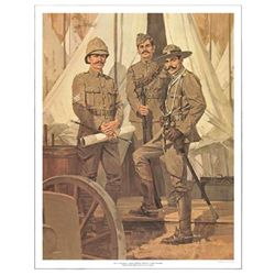 Tom McNeely Art Print Canadian Army -South African War