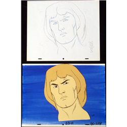 Background Orig Cel Mighty Hercules Animation Drawing