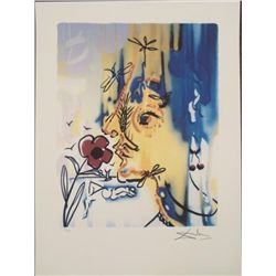 Salvador Dali : Vanishing Face Surrealistic Art Print