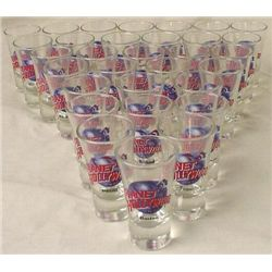 25 Planet Hollywood Shot Glasses Dealer Mystery Bag