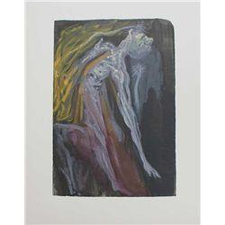 Dali Divine Comedy Inferno Print The Furies Canto 9