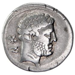 OSCA: Anonymous, 150-100 BC, AR denarius (3.98g), Bolskan