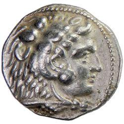 MACEDONIAN KINGDOM: Alexander III, 336-323 BC, AR tetradrachm (17.04g), Ake